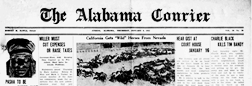 Athens Alabama Courier newspaper archives