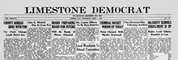 Athens Limestone Democrat newspaper archives