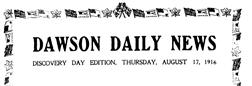 Dawson Daily News newspaper archives