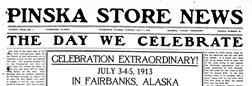 Pinska Store News newspaper archives