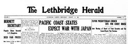 Lethbridge Herald newspaper archives