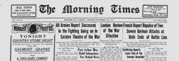 Medicine Hat Morning Times newspaper archives
