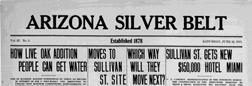 Miami Arizona Silver Belt newspaper archives
