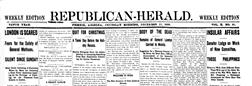 Phoenix Republican Herald newspaper archives