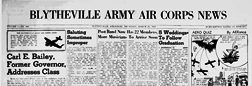 Blytheville Army Air Corps News newspaper archives