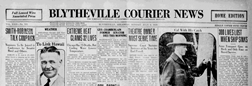 Blytheville Courier News newspaper archives