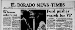 El Dorado News Times newspaper archives