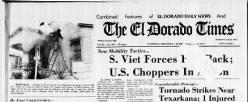 El Dorado Times newspaper archives