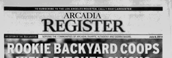 Arcadia Register newspaper archives