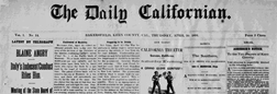 Bakersfield Daily Californian newspaper archives