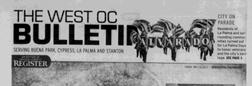 Buena Park West Oc Bulletin newspaper archives