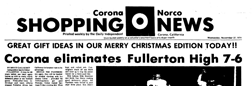 Corona Norco Shopping News newspaper archives