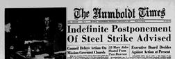 Eureka Humboldt Times newspaper archives