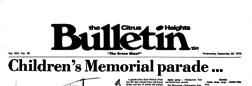 Fair Oaks Citrus Heights Bulletin newspaper archives