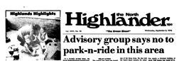 Fair Oaks North Highlander newspaper archives
