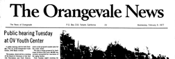 Folsom Orangevale News newspaper archives