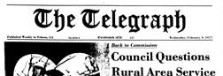Folsom Telegraph newspaper archives