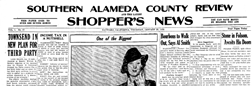 Southern Alameda County Review And Latest Shoppers newspaper archives