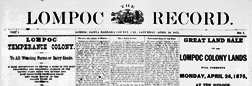 Lompoc Record newspaper archives