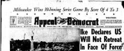 Appeal Democrat newspaper archives