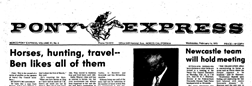 Norco Pony Express newspaper archives