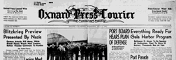 Oxnard Press Courier newspaper archives