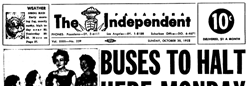 Pasadena Independent newspaper archives