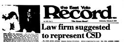 Sacramento East Yolo Record newspaper archives
