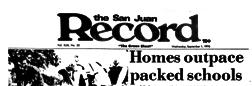 Sacramento San Juan Record newspaper archives