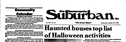Sacramento Suburban newspaper archives