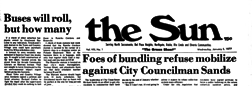 Sacramento Sun newspaper archives
