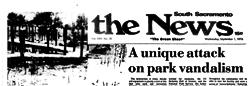 South Sacramento News newspaper archives
