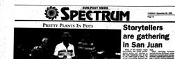 San Clemente Sun Post News Spectrum newspaper archives