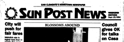 San Clemente Sun Post News newspaper archives