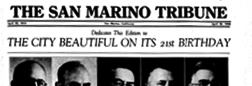 San Marino Tribune newspaper archives