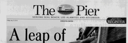 Seal Beach Pier newspaper archives