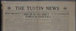 Tustin News newspaper archives