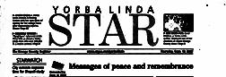 Yorba Linda Star newspaper archives
