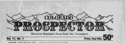 Colorado Springs Prospector newspaper archives