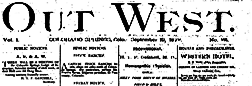 Out West newspaper archives