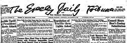 Greeley Daily Tribune And The Greeley Republican newspaper archives