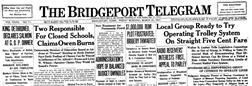 Bridgeport Telegram newspaper archives