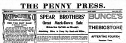 Middletown Penny Press newspaper archives