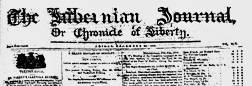 Dublin Hibernian Journal newspaper archives