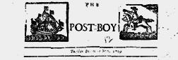 Dublin Post Boy newspaper archives