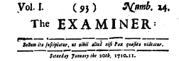 Examiner newspaper archives