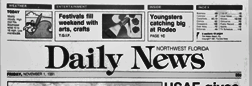 Northwest Florida Daily News newspaper archives