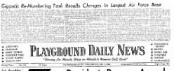 Playground Daily News newspaper archives