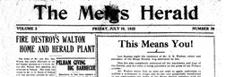 Meigs Herald newspaper archives