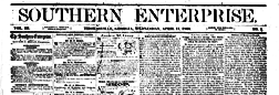 Thomasville Southern Enterprise newspaper archives